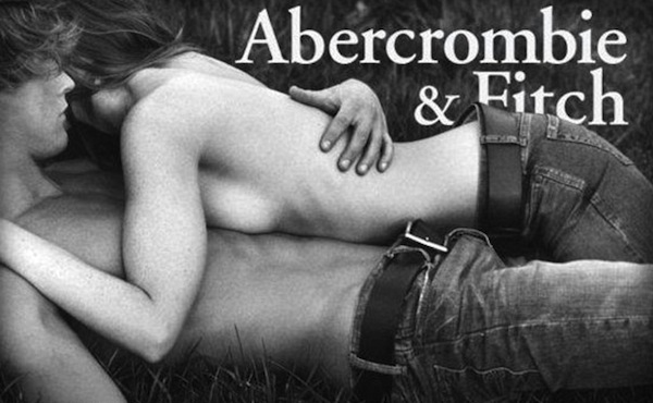 advertisers try to sell products and services by using sex A&F