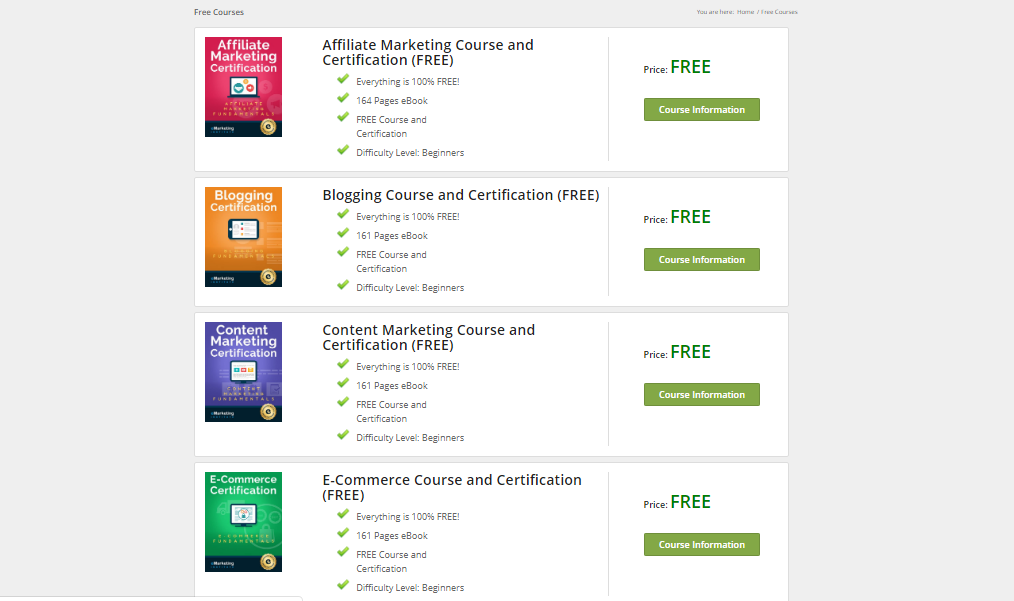 free digital marketing courses online