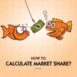 How to calculate the market share of a company