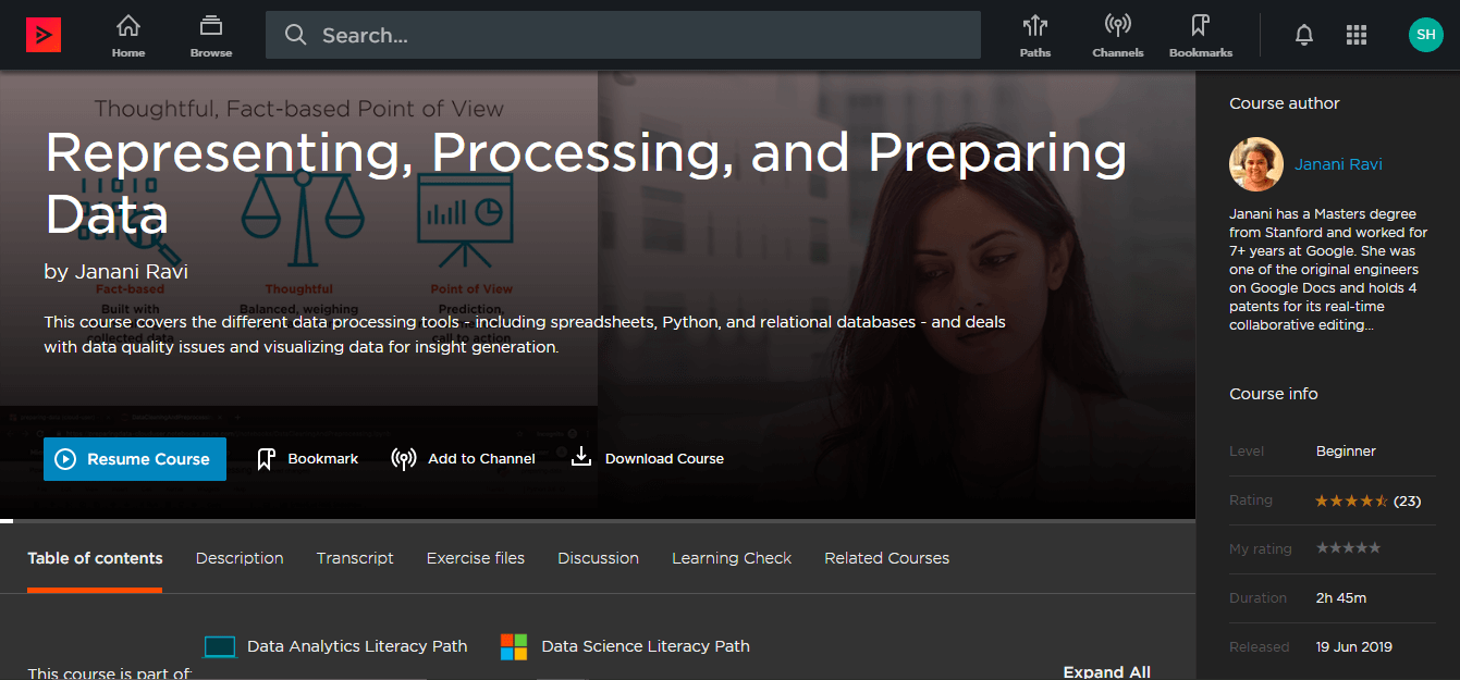 Pluralsight Review Data Science Literacy 2