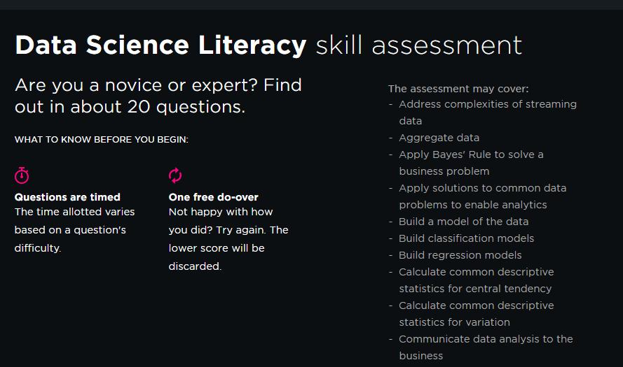 Pluralsight Review Skill Assessment