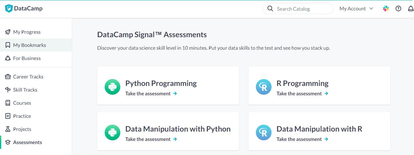 10 - DataCamp Signal