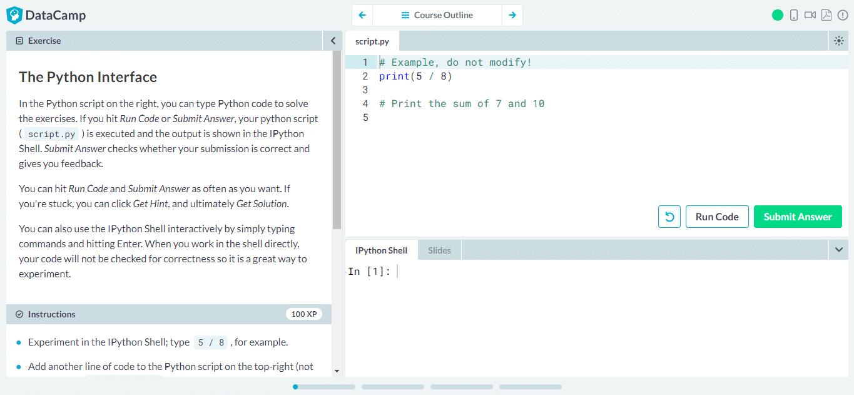 9 - Python Interface