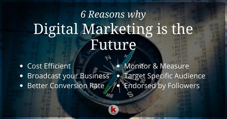 Digital Marketing is future