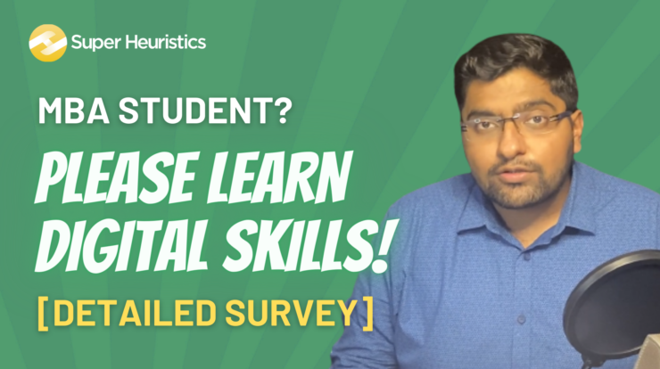 Why Should MBAs learn Digital Skills